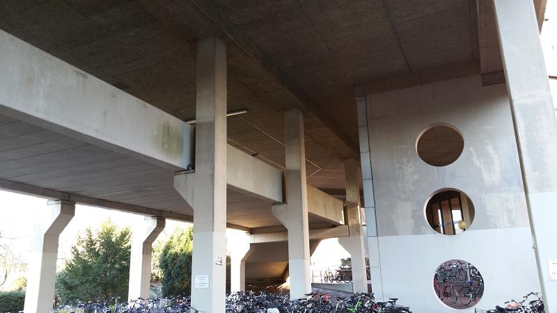 Uni Oldenburg Fußgängerbrücke